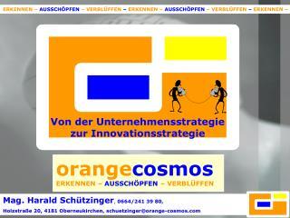 Von der Unternehmensstrategie  zur Innovationsstrategie