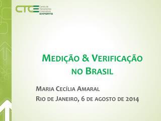 Medição & Verificação no Brasil