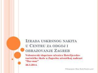 Izrada uskrsnog nakita u Centru za odgoj i obrazovanje Zagreb