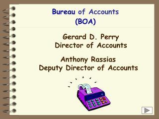 Bureau  of Accounts