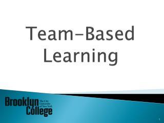 Team-Based  L earning