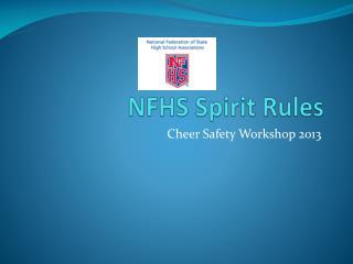 NFHS Spirit Rules
