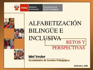 ALFABETIZACI N BILING E E INCLUSIVA