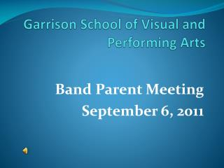 Garrison School of Visual and Performing Arts