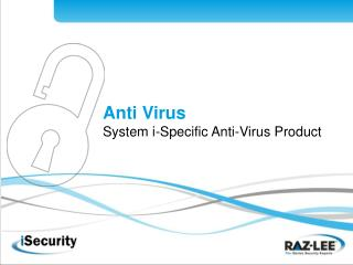 Anti Virus System i-Specific Anti-Virus Product