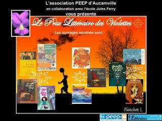 L'association PEEP d'Aucamville en collaboration avec l'école Jules Ferry vous présente