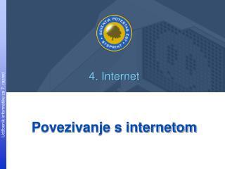 Povezivanje s internetom
