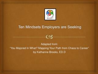 Ten Mindsets Employers are Seeking