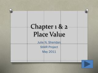 Chapter 1 & 2  Place Value