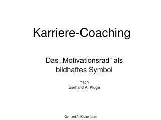 Karriere-Coaching