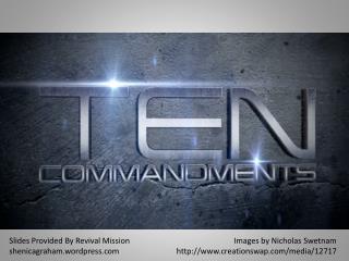 Slides Provided By Revival Mission shenicagraham.wordpress