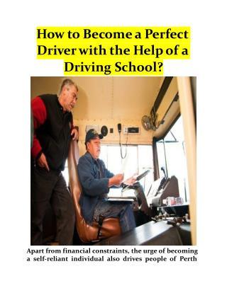 Best Driving School Perth