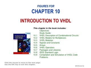 FIGURES FOR CHAPTER 10 INTRODUCTION TO VHDL