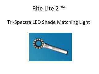 Rite Lite 2 ™ Tri-Spectra LED Shade Matching Light