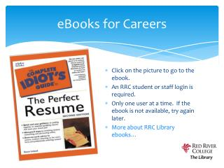 eBooks for Careers