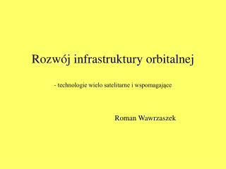 Rozwój infrastruktury orbitalnej