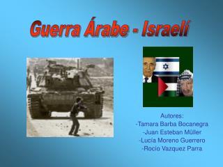 Guerra �rabe - Israel�