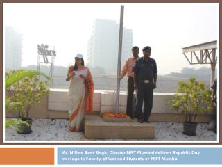 Tug of War between students and staff as part of Republic Day Celebrations at NIFT Mumbai