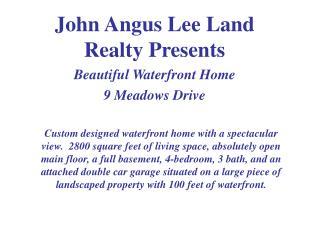 John Angus Lee Land Realty Presents