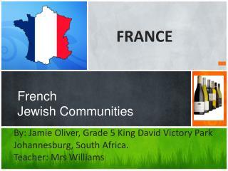 French Jewish Communities