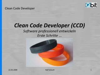 Clean Code Developer