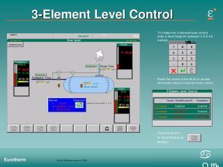 3-Element Level Control