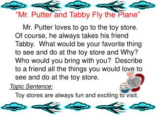 """Mr. Putter and Tabby Fly the Plane"""
