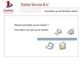 Aanmelden op een Windows netwerk