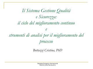 Bottazzi Cristina, PhD