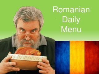 Romanian Daily  Menu
