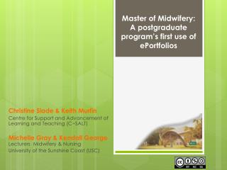 Master of Midwifery:  A postgraduate program's first use of ePortfolios