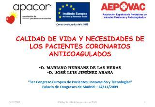 Asociación Española de Portadores de Válvulas Cardiacas y Anticoagulados