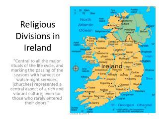 Religious Divisions in Ireland