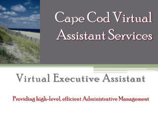 Cape Cod Virtual Assistant Services