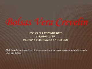 José vilela  rezende  neto (31)9103-1185 medicina veterinária 4°  periodo