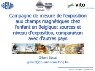 Gilbert  Decat gilbert@gd-emf-consulting.be