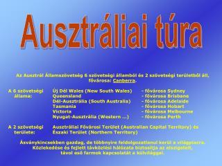 Ausztráliai túra