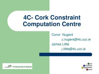 4C- Cork Constraint Computation Centre