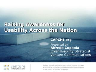 Raising Awareness for Usability Across the Nation