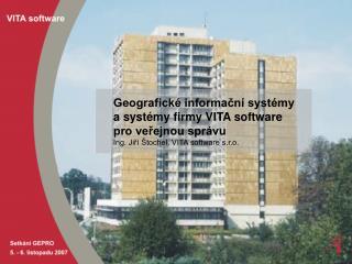 Spolupráce VITA - GEPRO