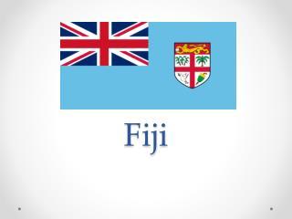 The majority of Fiji's islands
