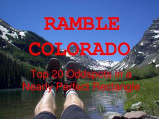 RAMBLE COLORADO