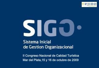 II Congreso Nacional de Calidad Turística Mar del Plata,15 y 16 de octubre de 2009