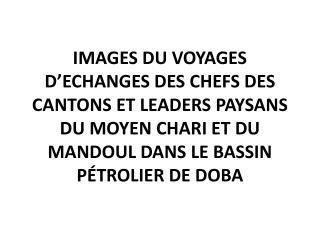Chefs des cantons de: