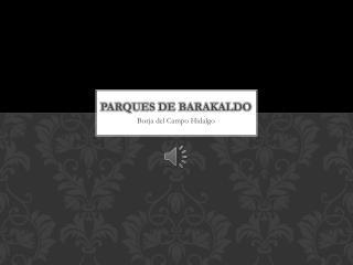 PARQUES DE BARAKALDO
