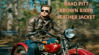 Brad Pitt Leather Jacket