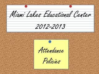 Attendance Policies