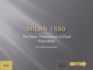 Milan 1880