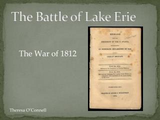 The Battle of Lake  E rie