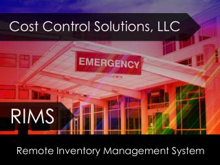 Remote Inventory Management System